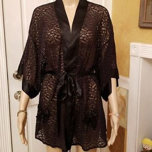 Victoria's Secret Sexy Little Things Lace Robe